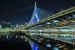 Leinwanddruck Bild - zakim bridge