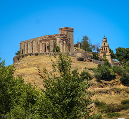 Castle at Cortegana, Huelva, Andalusia, Spain