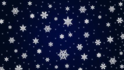 Starry Christmas Theme baxkground