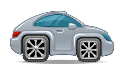 Auto square wheels