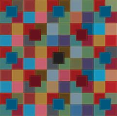 color vector patchwork design