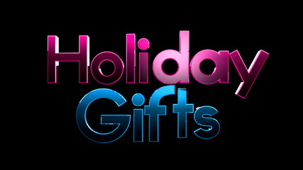 Christmas gifts on TEXT background 2