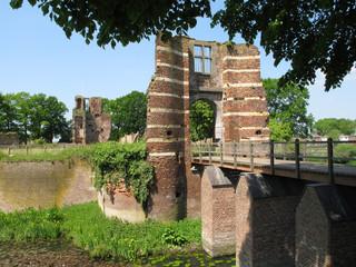 Batenburg Castle in Batenburg (Wijchen - Netherlands)