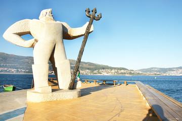 Escultura en Moaña, Galicia