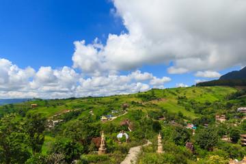 mountain beautiful landscape off Thailand