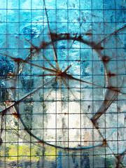 macro photography of transparent broken glass