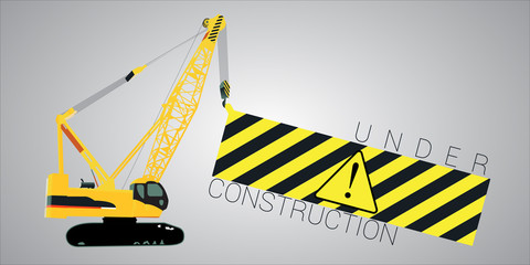Under construction message