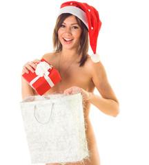 Happy Naked Santa