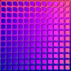 Purple Square Pattern