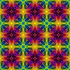 Retro Hippie Rainbow Design