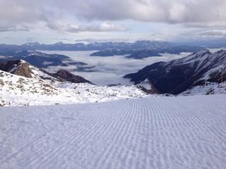 skigebiet in Österreich in den Alpen
