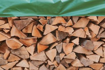 Brennholz, Stapel, Heizperiode, Wintervorrat