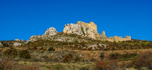 Loare castle, Huesca, Aragon, Spain
