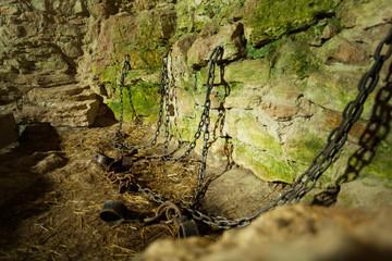 Castle dungeon prison