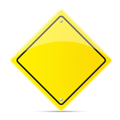 Safety road sign