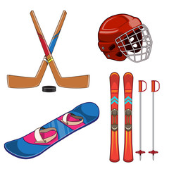Winter sports collection.