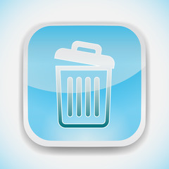 recycle bin icon empty