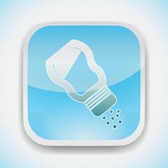 saltshaker vector icon