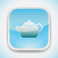teapot vector icon