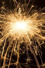 Burning sparkle