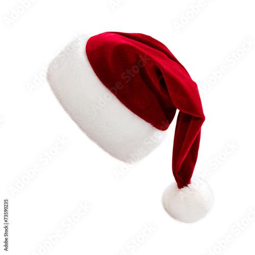 Foto op Canvas Uitvoering Weihnachtsmütze