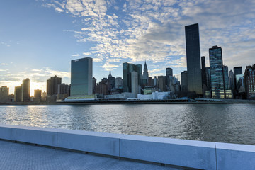 View of Manhattan from Roosevelt Island