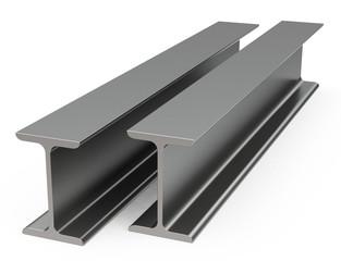 the metal beams