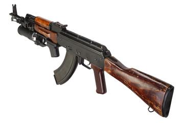 Kalashnikov AK 47 with GP-25 grenade launcher