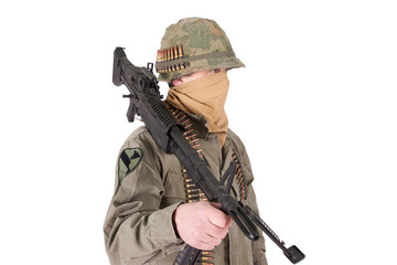 us army soldier vietnam war period