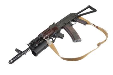 Kalashnikov AK with GP-25 grenade launcher