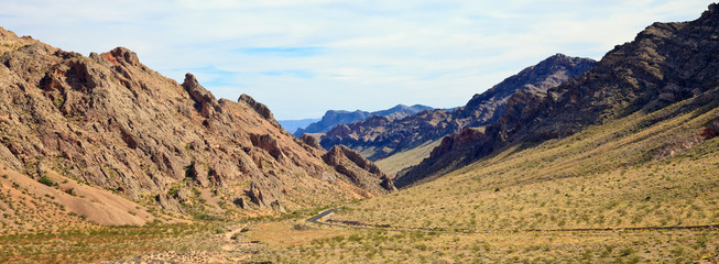 Valley of Fire Mountains