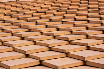 Red Clay Tile Roof Design