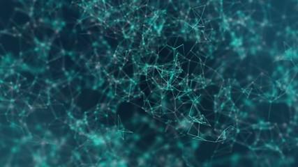 Network Plexus Abstract Loop Background 2