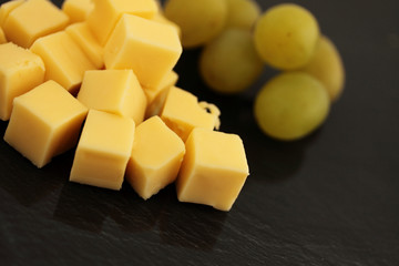 cubes of cheese