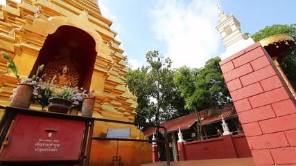 Wat Phanaon temple Chiang Mai Province Asia Thailand