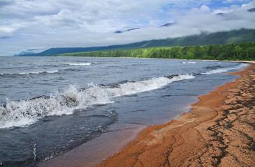 Barguzin Bay of Lake Baikal