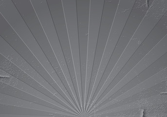 Grunge rays metal background