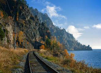 Autumn Circum-Baikal Railway