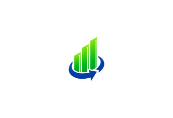 business finance stock exchange logo