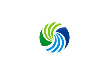 business geometry building logo