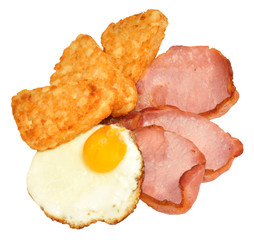 Fried Egg And Bacon Breakfast