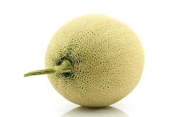 japan melon on white background