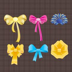 Bows and ribbons.