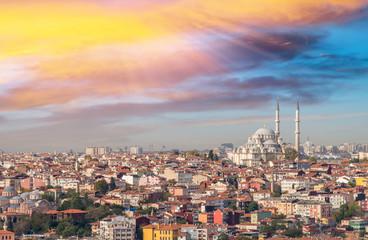 Stunning landscape of Istanbul, Turkey