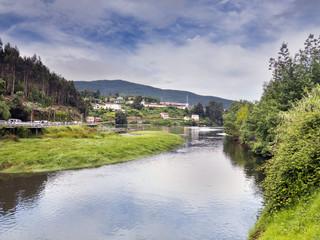 Ensenada de San Simon en Galicia