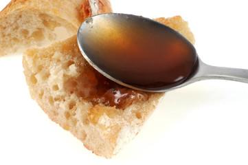 Du miel sur la tartine