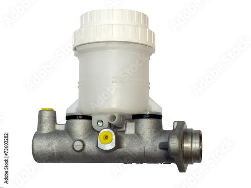 Leinwanddruck Bild Brake master cylinder