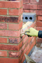 Bricklaying - pointing work