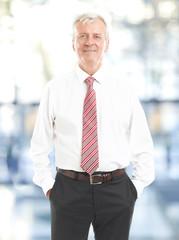Senior businessman portrait