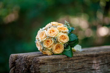 wedding bouquet of flowers